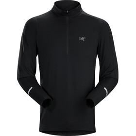 Arc'teryx Cormac Sweat-shirt Manches longues Col roulé Zip Homme, black